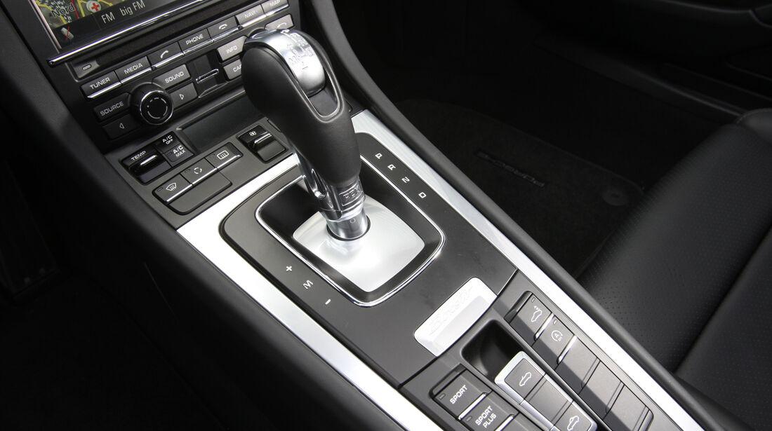 Porsche Boxster, Schalthebel, Gangschaltung