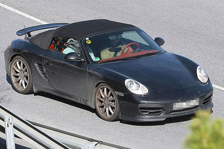 Porsche Boxster Speedster Erlkönig