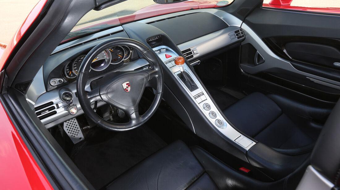 Porsche Carrera GT, Cockpit