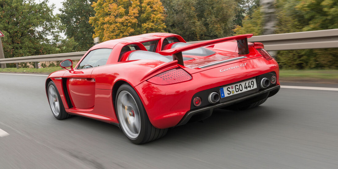 Porsche Carrera GT - Supersportwagen - V10