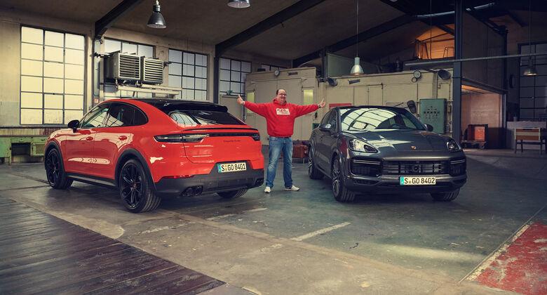 Porsche Cayenne Coupé, Exterieur