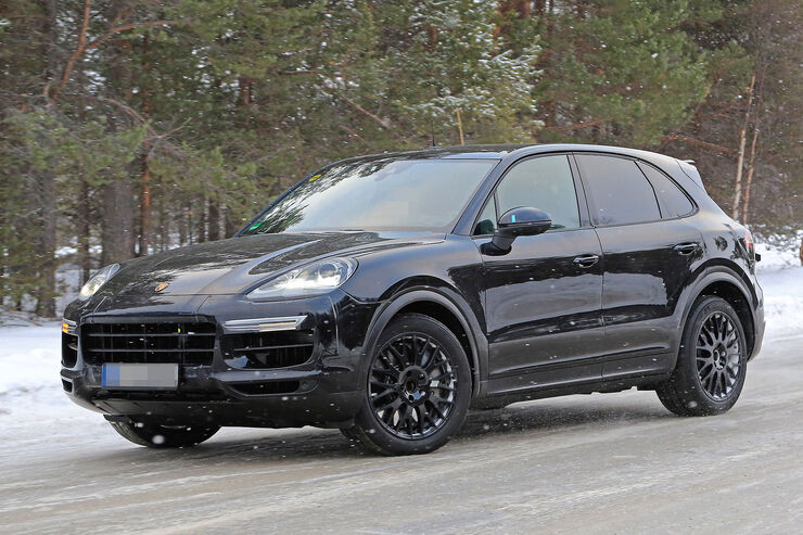 erlk nig porsche cayenne 2017 200 kg leichter auto motor und sport. Black Bedroom Furniture Sets. Home Design Ideas