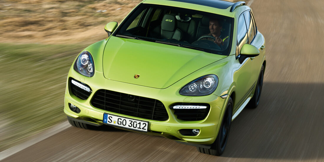 Porsche Cayenne GTS, Frontansicht