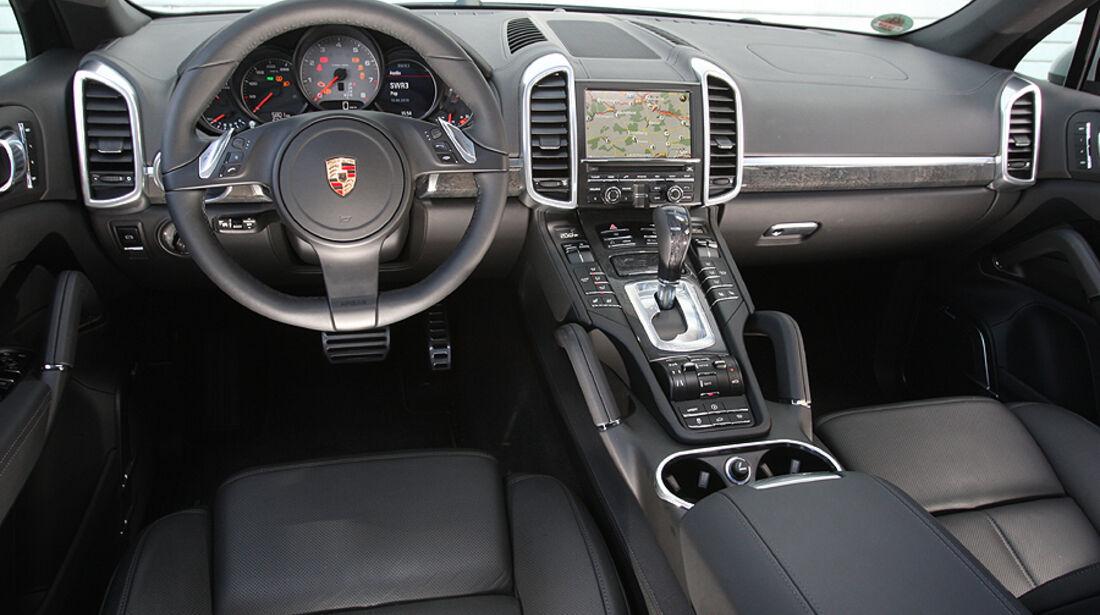 Porsche Cayenne S, Innenraum