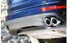 Porsche Cayenne Turbo S, Auspuff