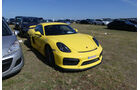 Porsche Cayman GT4 - Carspotting - Fan-Autos - 24h-Rennen Le Mans 2017
