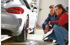 Porsche Cayman GT4, Leistungsmessung