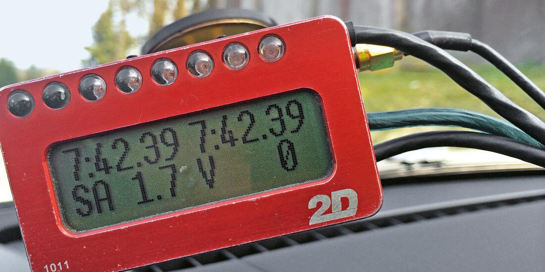 Porsche Cayman GT4, Rundenzeit