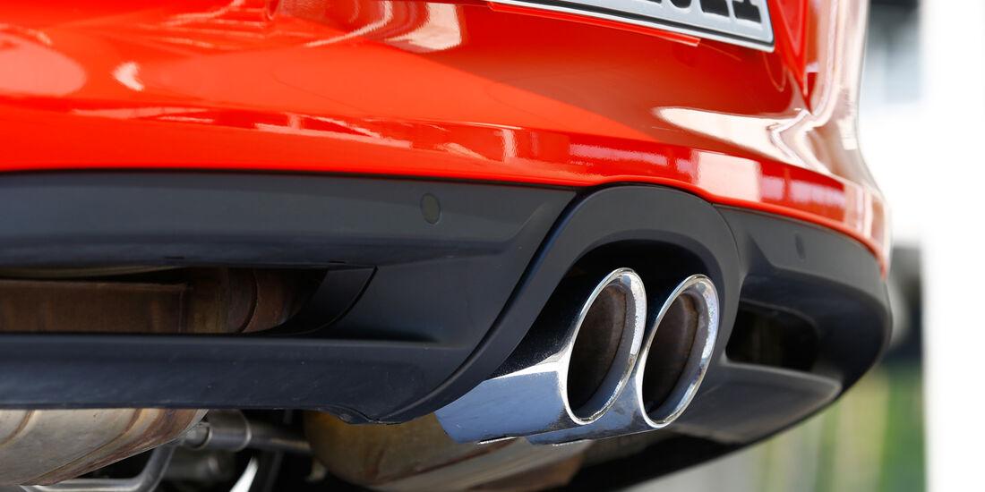 Porsche Cayman S, Auspuff, Endrohr