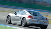 Porsche Cayman S, Heckansicht