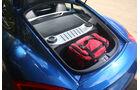 Porsche Cayman S, Kofferraum