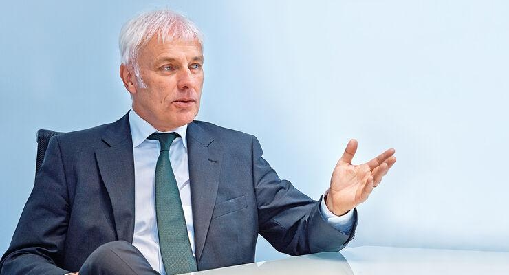 Porsche-Chef, Matthias Müller, Porträt
