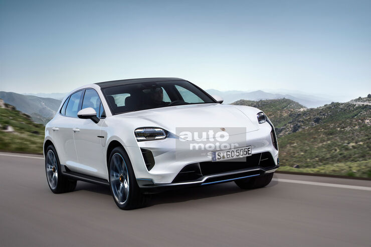 Porsche Macan 2021 Next Generation Only Electric