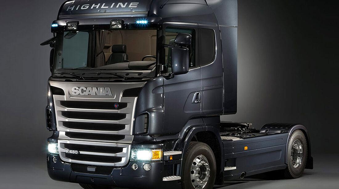 Porsche Fremdentwicklung Scania Lkw-Kabine