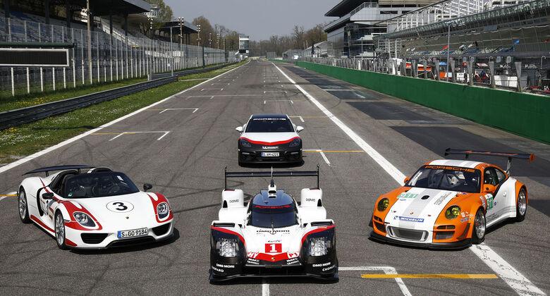 Porsche Hybrid Flotte