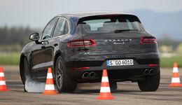 Porsche Macan S Diesel, Heckansicht