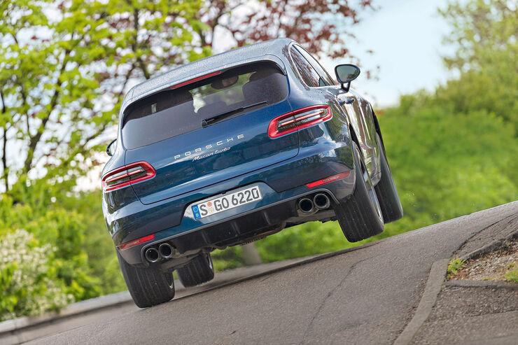 Porsche Macan Turbo Mit Perfomance Paket Im Test Auto Motor Und Sport