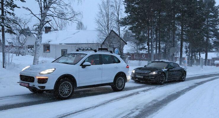 Porsche Mission E Panne
