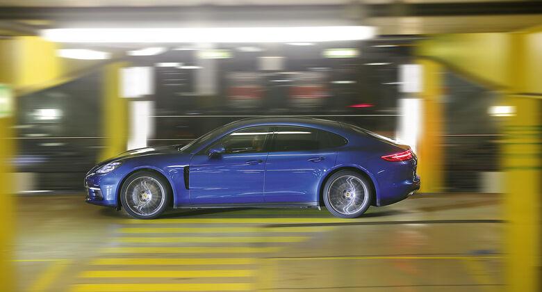 Porsche Panamera 4S Diesel, Seitenansicht