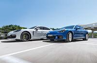 Porsche Panamera 4S, Porsche Panamera 4 E-Hybrid, Exterieur