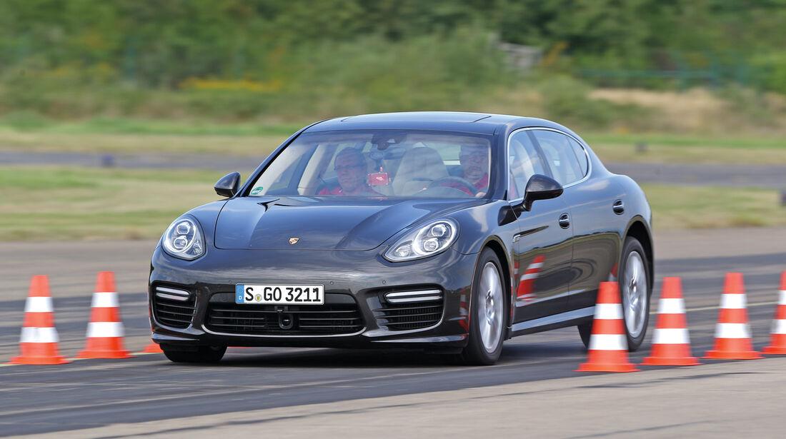 Porsche Panamera, Bremstest