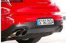 Porsche Panamera GTS, Endrohre