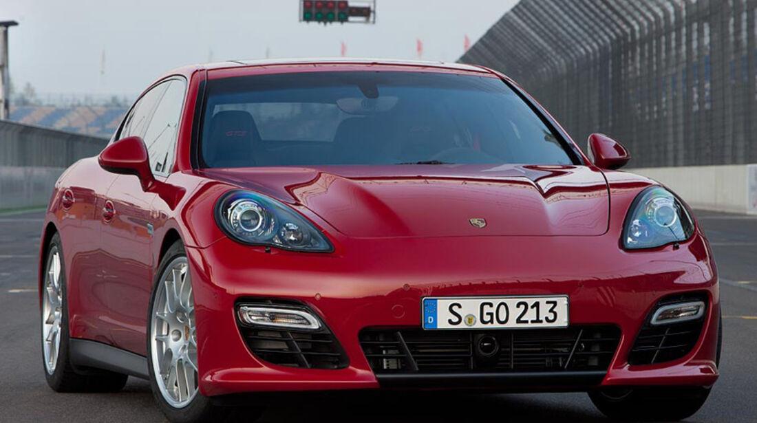 Porsche Panamera GTS, Frontansicht