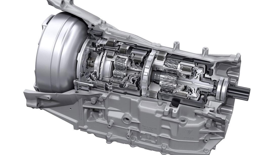 Porsche Panamera Plug-in-Hybrid, Getriebe