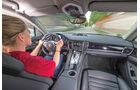 Porsche Panamera S E-Hybrid, Cockpit, Fahrersicht