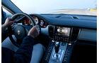 Porsche Panamera S Hybrid, Cockpit, Lenkrad