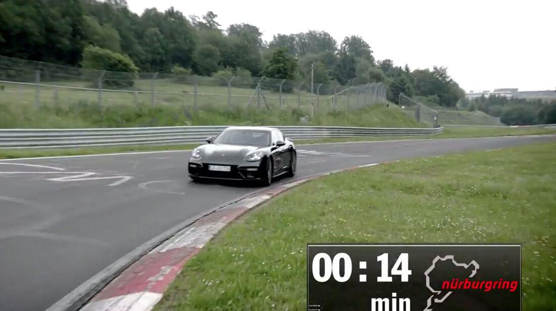 Porsche Panamera Turbo - Nordschleife - Rekord