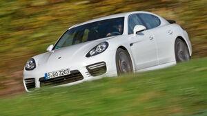 Porsche Panamera Turbo, Seitenansicht