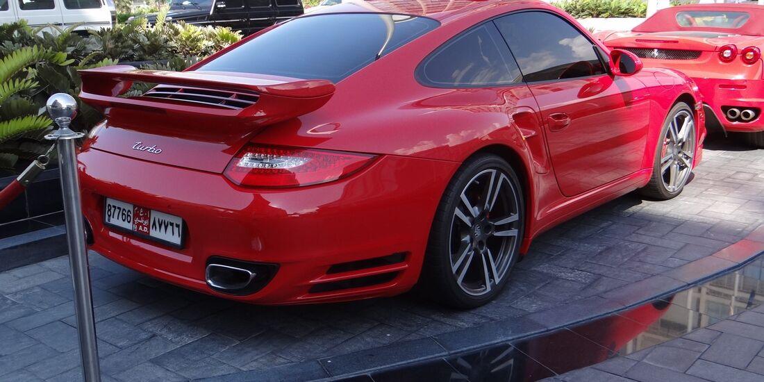 Porsche - Scheich Autos - GP Abu Dhabi 2012