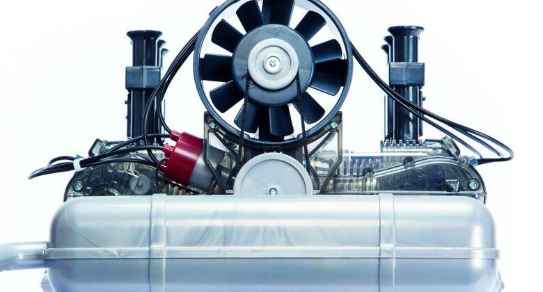 Porsche Sechszylinder Boxermotor