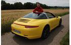 Porsche Targa 4S, Heckansicht, Christian Gebhardt