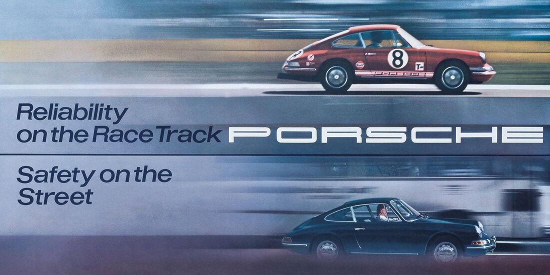 Porsche-Werbung