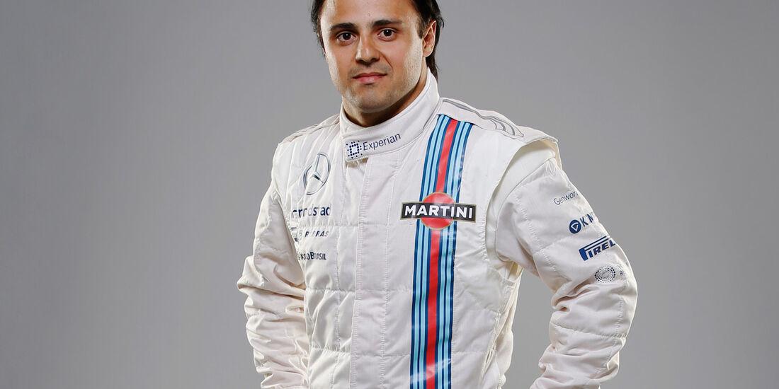 Porträt Felipe Massa - Formel 1 2014
