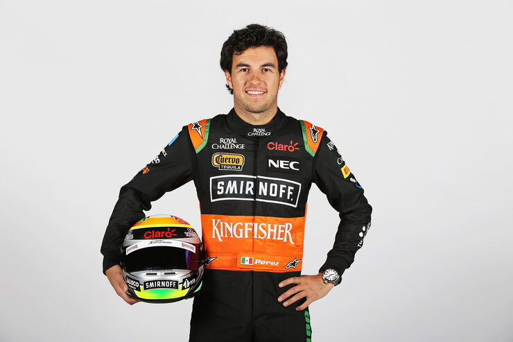 Porträt - Sergio Perez - Force India - 2015