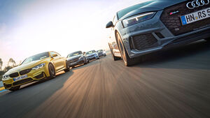 Power-Coupés - Test - Vergleichstest - RS 5 - ATS -V - RC F - AMG C 63 S - M4 Competition