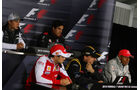Pressekonferenz F1-Piloten GP Kanada