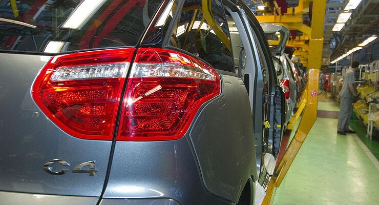 Produktion PSA Citroen C4