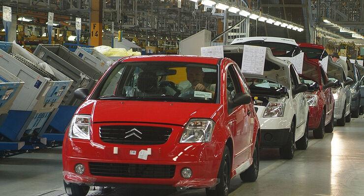 Produktion PSA Citroen