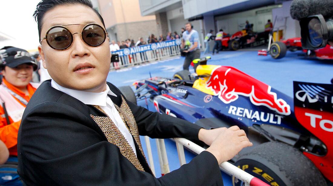 Psy & Red Bull GP Korea 2012