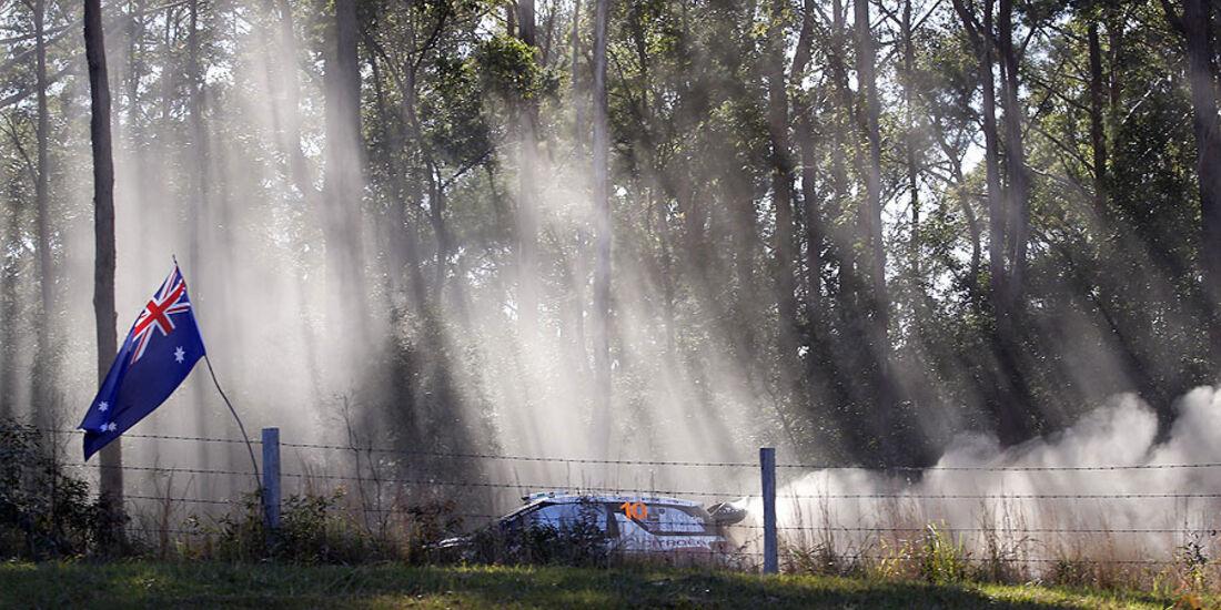 Qassimi, WRC Rallye Australien 2013