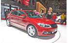 Qoros 3 Hatchback Fließheck, Genfer Autosalon, Messe 2014