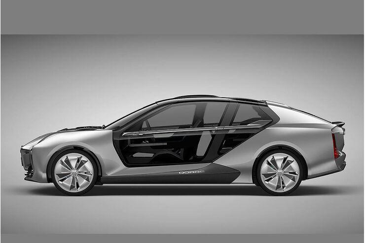 Qoros Model K-EV Concept