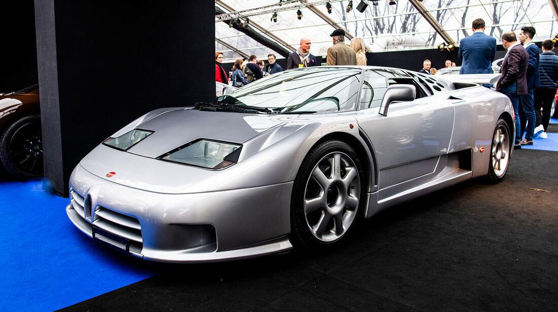 RM Sotheby's Auktion Rétromobile Paris 2019 Bugatti EB 110