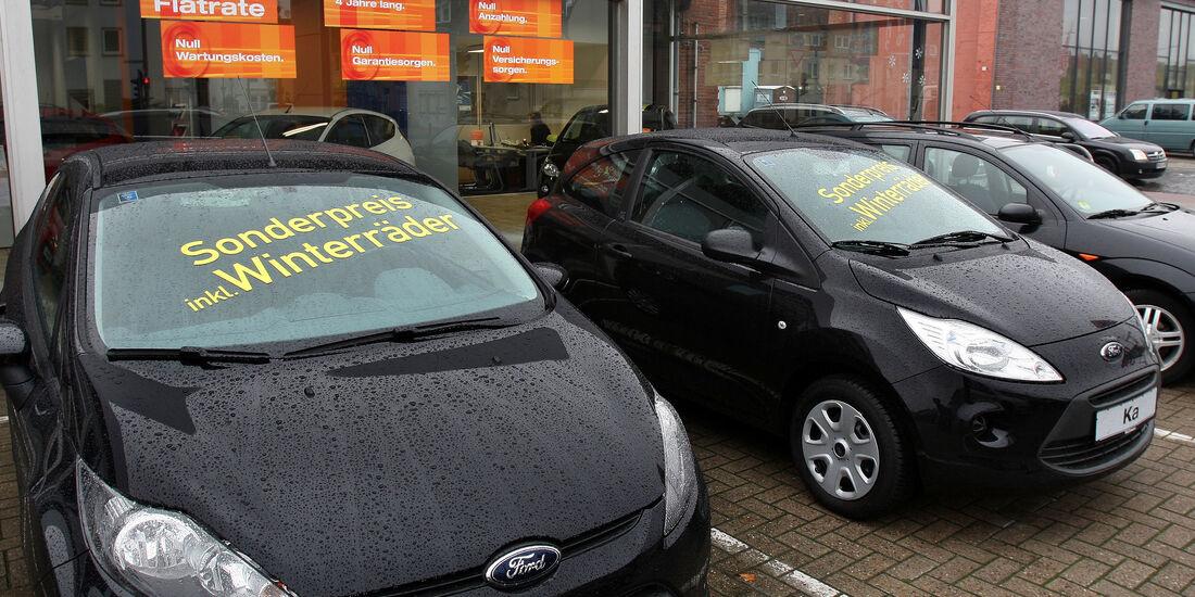 Rabatte bei Neuwagenkauf