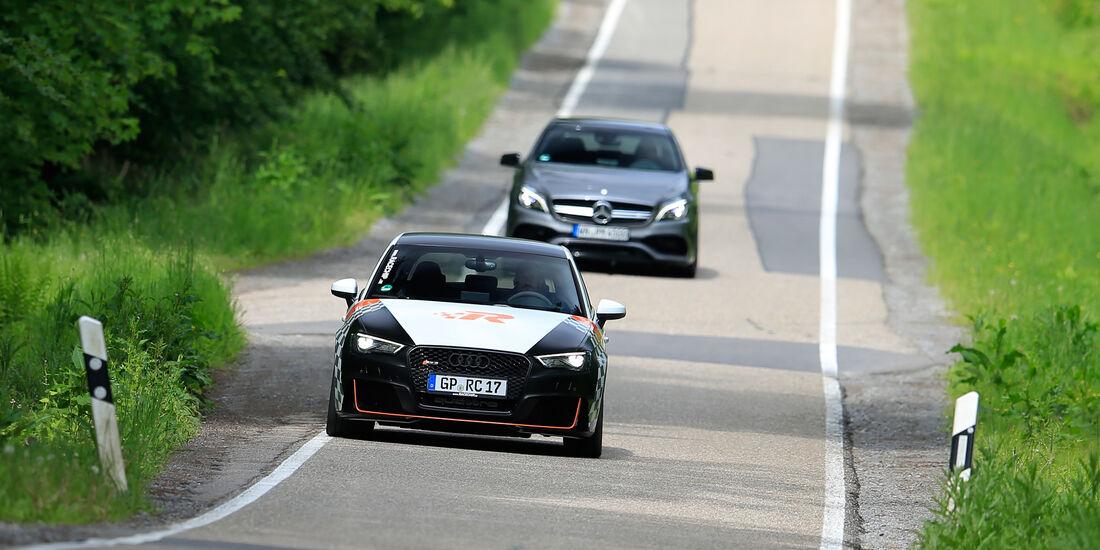 RaceChip-Audi RS3 Sportback vs. Performmaster-Mercedes-AMG A 45