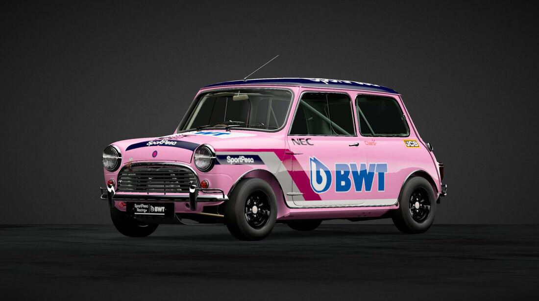 Racing Point - Mini in F1-Designs - 2019